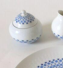 Zuckerdose Rosenthal Romanze secunda blau Björn Wiinblad sugar bowl annees 60