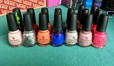 Lot 2 China Glaze Nail Lacquer with Hardeners 0.5 oz