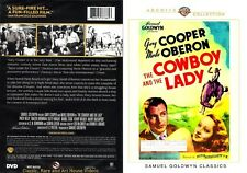 The Cowboy and the Lady ~ New DVD ~ Gary Cooper, Merle Oberon (1938)