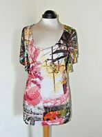 Desigual Beautiful Top in Cotton Size M Brand New