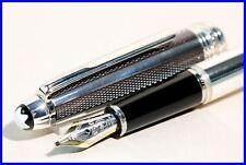 OB nib 925 SILVER & FIBER Montblanc MASTERPIECE 144 cartridge / converter NOS