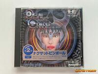 DEVIL CRASH NAXAT PINBALL PC ENGINE HuCard NEC Konami 1989 JAPAN USED A1412