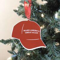 Donlald Trump Ornament, Trump Christmas Ornanent, Trump Lover, Maga Hat Or