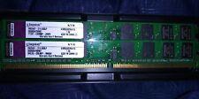 2gb KINGSTON KVR533D2N4/1G matching # set 2x1GB 533Mhz PC2-4200U CL4 dimm DDR2
