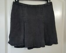 Women's Skirt Short Pleated Adam Levine Charcoal Cute Trendy XS Extra Small NWOT