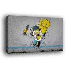 Banksy Canvas Animation Art Prints