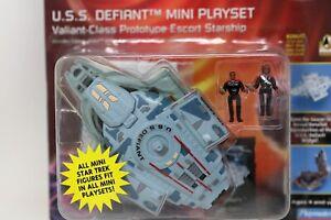 Star Trek Innerspace USS Defiant Mini Playset 6180 Playmates 1996
