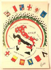 Cartolina Campionato Del Mondo 1990