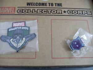 Funko Pop Marvel Collector Corps Spider-man Homecoming Exclusive pin & badge