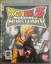 Dragonball z Burstlimit Playstation 3/PS3 Complete Game Not Sealed +Free Post