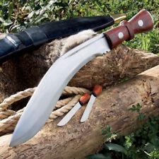 "17"" FIXED BLADE KNIFE Nepalese Military Gurkha Kukri Blade Machete Full Tang New"