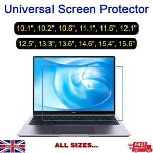 """10.1"""" to 15.6"""" Laptop PC Tablet GPS Notebook LCD Screen Guard Protector Film"""