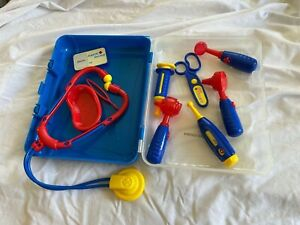 Junior Doctor Play Set, w Light up Scoops and Carry case