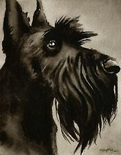 SCOTTISH TERRIER note cards by watercolor artist DJ Rogers