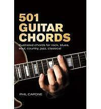 501 Guitar Chords Book