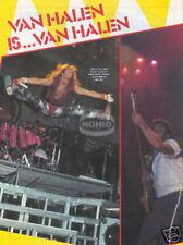 David Lee Roth Pinup magazine Pinup 70's 80's Van Halen
