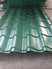 Tile Effect/*Juniper Green Plastic Coated*, 0.7mm, roofing materials garden shed