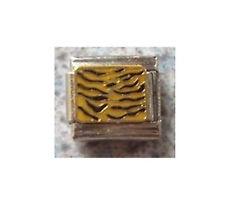 9mm Classic Size Italian Charm E132 Tiger Skin Print