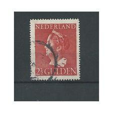 Nederland  347 Konijnenburg 2,5 Gld   VFU/gebr  CV 17,75 €