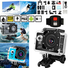 "Sj8000R Wifi 4K Sport Action Camera 2"" Dv 1080P Hd Cam Dvr Waterproof+Charger"