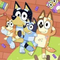 Bluey Cartoon 5D Full Drill Diamond Painting Cross Stitch Kits Art Gifts Decor
