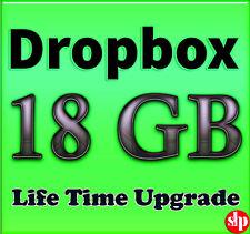 Dropbox 18GB Lifetime Upgrade ☆ Permanent Space ☆ Referral Service