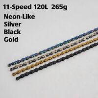 ZRACE 11 Speed chain 11S Chain MTB Chain Road Bike Chain 120L Sliver/Black/Neon