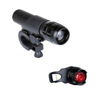 Bicycle Front Head Light Waterproof LED Bike Safety Flashlight Taillight Combo