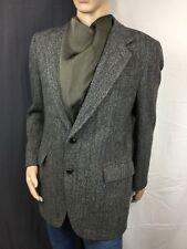 HARRIS TWEED Scottish WOOL USA 🇺🇸 Kuppenheimer Herringbone Sport Coat Blazer S