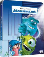 Monsters, Inc. 3D (Blu-ray 3D/2D) - Lenticular Edition Steelbook  *BRAND NEW*