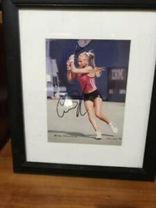 Anna Kournikova Genuine Autographed Photo