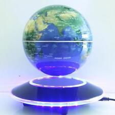6 Inch Electronic Magnetic Levitation Floating Globe World Map With Led Lights