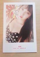 AOA ChanMi Good Luck official photo card ( weekend  ver. )