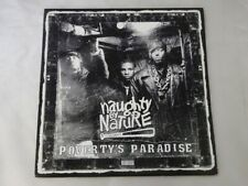 Naughty By Nature Poverty's Paradise Tommy Boy TB1111 US  VINYL LP
