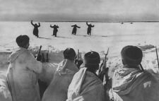 WWII photo Four German soldiers surrender to Moscow World War/560