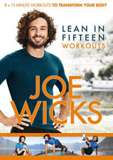 Joe Wicks Lean in 15 Workouts DVD Fitness Video Home 2017 Boxed