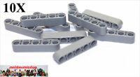 10X Lego® 32316 Technic dicke Liftarme Beams 1X5 neues Hellgrau Gray NEU