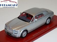 TSM Model 1/43 TSM114322 Rolls Royce 2009 Phantom Coupe, Silver