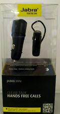 Jabra Mini Clear Talk Bluetooth Hands-Free Headset & Car Charger - Black