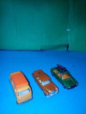 MATCHBOX LESNEY VW GOLF MERCEDES VW CAMPER   metallo