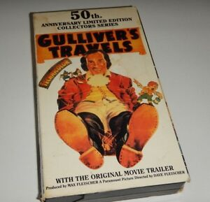 Gulliver's Travels VHS 50th Anniversary Limited Edition  VHS
