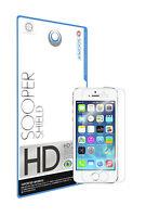 SOOPER SHIELD Premium Screen Protector For Apple iPhone SE / 5S / 5C (Pack of 2)