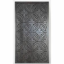 Beautiful Antique French Carved Chestnut Geometric Neo-Gothic Salvaged Panel
