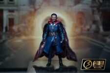 "1/12 Doctor Strange Head Sculpt & Cloak Model For SHF 6"" Male Body Action Figure"