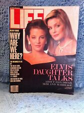 """NOS 1988 LIFE MAGAZINE """"ELVIS' DAUGHTER TALKS ABOUT DAD, DRUGS, MOM &  MARRIAGE"""""""