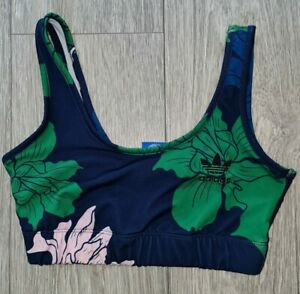 Adidas Originals Floral Sports Bra. Size 8. USED TWICE
