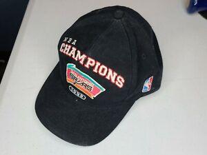 Vintage San Antonio Spurs Puma 1999 NBA Champions Hat Cap Basketball