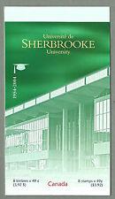 CANADA 2004 - Folded Booklet - SHERBROOKE UNIVERSITY (8 @ 49c)- Complete - MNH