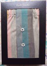 "Paul Smith Mens Underwear Boxer Short Artist Stripe Cotton Size S UK 30-32"" BNIB"