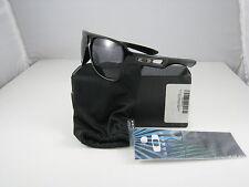 New Oakley Dispatch II Polished Black w/Grey OO9150-01